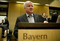 Berlin, Der Minsterpräsident von Bayern, Horst Seehofer, am Freitag (07.06.13) im Bundesrat. Foto: Steffi Loos/CommonLens