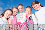 CAMP FRIENDS: Ciara Casey, Aoife Barry, Maura Ross, Lauren Costello and Amy Mannix having a fun time at the Buds Resource Centre summer camp held last week in Ballyduff..   Copyright Kerry's Eye 2008