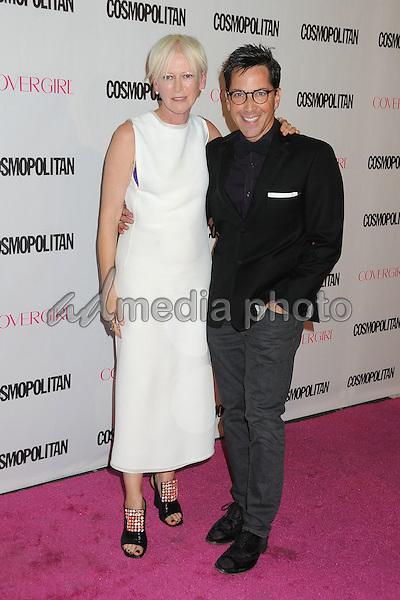 12 October 2015 - Hollywood, California - Joanna Coles, Dan Bucatinsky. Cosmopolitan 50th Birthday Celebration held at Ysabel. Photo Credit: Byron Purvis/AdMedia