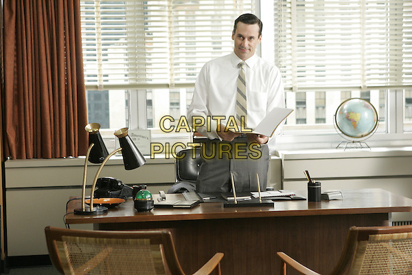 JON HAMM<br /> in Mad Men (Season 1)<br /> *Filmstill - Editorial Use Only*<br /> CAP/FB<br /> Image supplied by Capital Pictures
