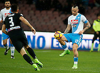Marek Hamsik  during the SSC Napoli vs Atalanta, serie A  soccer match at  San Paolo Stadium in Naples , Italy 25 February 2017 Photo: Ciro De Luca ciro de luca<br />   +39 02 43998577 sales@silverhubmedia.it