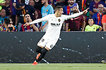 Valencia CF's Rodrigo Moreno celebrates goal during Spanish King's Cup Final match. May 25,2019. (ALTERPHOTOS/Carrusan)