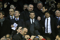 Paris Saint-Germain's David Beckham during Champions League 2012/2013 match.February 12,2013. (ALTERPHOTOS/Acero) /NortePhoto