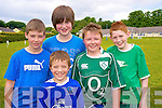 Enjoying the Loretto National School sports day on Friday were Craig Courtney, Laurance O'Donoghue, Conor McCarthy, Aaron Lenihan and Cian O'Donoghue...