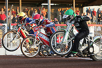 The Starting Gate - Arena Essex Hammers vs Oxford Cheetahs at The Arena Essex Raceway, Lakeside - 08/06/05 - MANDATORY CREDIT: Rob Newell/TGSPHOTO