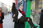 Gerry Adams Opens sinn Fein Office In Drogheda
