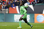 03 November 2012: DC's Bill Hamid. DC United played New York Red Bulls at RFK Stadium in Washington, DC in the first leg of their 2012 MLS Cup Playoffs Eastern Conference Semifinal series. The game ended in a 1-1 tie.