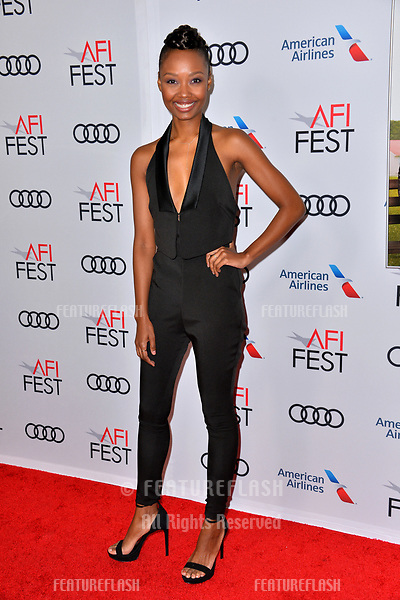 """LOS ANGELES, CA. November 10, 2018: Ashleigh LaThrop at the AFI Fest 2018 world premiere of """"The Kominsky Method"""" at the TCL Chinese Theatre.<br /> Picture: Paul Smith/Featureflash"""