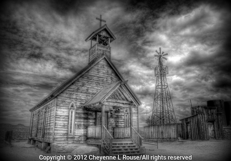 Church on the Mount - Goldfield Ghost Town Church - Golfield, Arizona