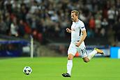 13th September 2017, Wembley Stadium, London, England; Champions League Group stage, Tottenham Hotspur versus Borussia Dortmund; Harry Kane of Tottenham Hotspur