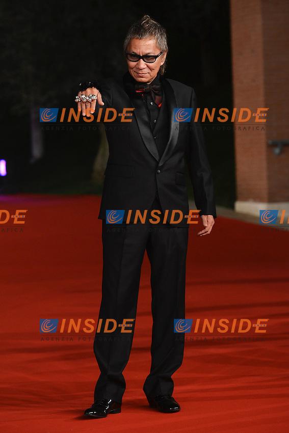 "Takashi Miike director of the movie ""Aku no kyoten / Lesson of Evil"".Roma 9/11/2012 Auditorium.Festival del Cinema di Roma.Foto Guido Aubry Elipics"