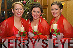 Bridesmaids at Brid Fitzgerald and Mike Lyne Wedding on December 31st were l-r: Martha Fitzgerald, Linda Harrington and Fiona Fitzgerald.