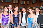 3426-3429.---------.Looking Swell.-------------.Having fun at their Debs in the Abbeygate Hotel main St Tralee,last Saturday night were students of St Joseph's secondary school Ballybunion,L-R Aisling O'Sullivan,Alan Fitzell,Ma?ire Hitchen,Paraic Walsh,Heather Moran and Peter Cooke.