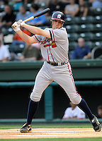 May 8, 2008: Freddie Freeman of the Rome Braves, Class A affiliate of the Atlanta Braves, in a game against the Greenville Drive at Fluor Field at the West End in Greenville, S.C. Photo by:  Tom Priddy/Four Seam Images