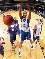 CJ Barksdale at the NBPA Top100 camp at the John Paul Jones Arena Charlottesville, VA. Visit www.nbpatop100.blogspot.com for more photos. (Photo © Andrew Shurtleff)