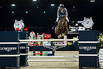 Philipp Weishaupt of Germany riding Chacon competes in the Masters One DBS during the Longines Masters of Hong Kong at AsiaWorld-Expo on 11 February 2018, in Hong Kong, Hong Kong. Photo by Diego Gonzalez / Power Sport Images