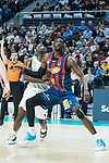Usman Garuba and Youssoupha Fall<br /> during Real Madrid vs Kirolbet Baskonia game of Liga Endesa. 19 January 2020. (Alterphotos/Francis Gonzalez)