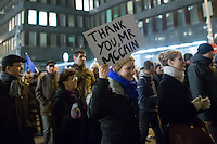 Protest against government corruption in Budapest, Hungary on December 04, 2014. ATTILA VOLGYI