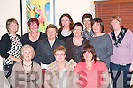 Bridie Finnegan Kilcummin celebrates her retirement from St Columbanus Home Killarney at Lord Kenmare's restaurant, Killarney on Friday night. Front row: Eileen McSparron, Bridie Finnegan, Rita Fogarty. Back row: Eileen Houlihan, Catherine O'Donoghue, Mary B O'Sullivan, Eileen O'Donoghue, June Twomey, Sheila O'Sullivan, Tess O'Connor and Martina Tangney   Copyright Kerry's Eye 2008