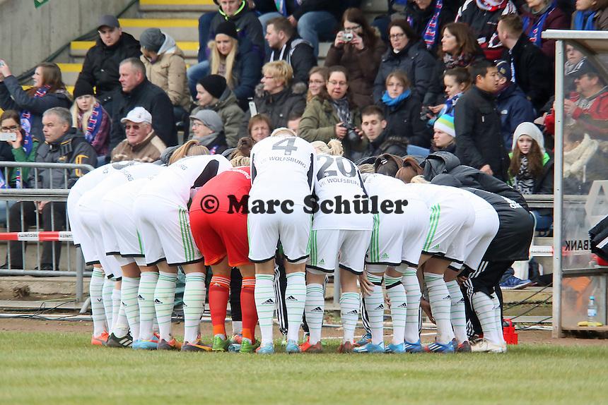 VfL Wolfsburg schwoert sich ein