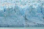 The Face of Mergerie glacier, Glacier Bay National Park Alaska.July 6, 2005..Photo by ©Fitzroy Barrett 2005