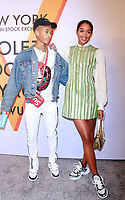 NEW YORK, NY October 26, 2017 Jaden Smith. Laura Harrier attend  Volez Voguez Voyagez x Louis Vuitton - Exhibition Preview at the Former America Stock Exchanging Build in New York October 26,  2017. Credit:RW/MediaPunch /NortePhoto.com