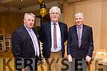 Enjoying the  Austin Stacks Centenary Lunch at Ballygarry House Hotel on Friday were Denis Collins, Kevin Collins and Barry Collins