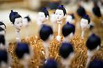 Iwatsuki ningyo Dolls are created by Hiroshi Omamiuda at his company Taisei Ningyo in Iwatsuki, Saitama Prefecture, Japan on Feb. 01, 2017. The dolls have been made in Japan for over 300 years. ROB GILHOOLY PHOTO