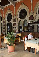Türkei, Resturant im Sirkeci-Bahnhof in Istanbul