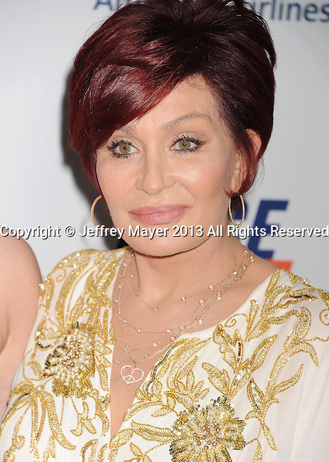 CENTURY CITY, CA- MAY 03: TV personality Sharon Osbourne arrives at the 20th Annual Race To Erase MS Gala 'Love To Erase MS' at the Hyatt Regency Century Plaza on May 3, 2013 in Century City, California.