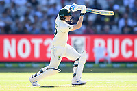 26th December 2019; Melbourne Cricket Ground, Melbourne, Victoria, Australia; International Test Cricket, Australia versus New Zealand, Test 2, Day 1; Steve Smith of Australia hits the ball - Editorial Use