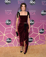 05 August 2019 - West Hollywood, California - Cobie Smulders. ABC's TCA Summer Press Tour Carpet Event held at Soho House.   <br /> CAP/ADM/BB<br /> ©BB/ADM/Capital Pictures