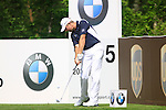James Kingston tees off on the par 3 5th hole during Round 2 of the BMW PGA Championship at  Wentworth, Surrey, England...Photo Golffile/Eoin Clarke.(Photo credit should read Eoin Clarke www.golffile.ie)....This Picture has been sent you under the condtions enclosed by:.Newsfile Ltd..The Studio,.Millmount Abbey,.Drogheda,.Co Meath..Ireland..Tel: +353(0)41-9871240.Fax: +353(0)41-9871260.GSM: +353(0)86-2500958.email: pictures@newsfile.ie.www.newsfile.ie.