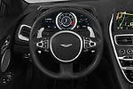 Car pictures of steering wheel view of a 2019 Aston Martin DB11-Volante - 2 Door Convertible Steering Wheel