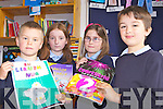 GAEILGE ABÚ: Pupils from Killahan school in north Kerry whose Irish writings were selected for Irish language books, l-r: Evan Knight, Rachel Conway, Grace O'Hara Parker, Ethan Dowling.