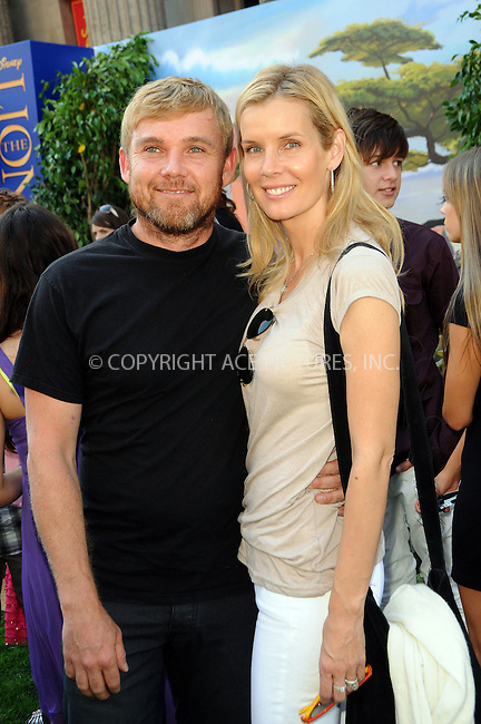 WWW.ACEPIXS.COM . . . . .  ....August 27 2011, LA.... Rick Schroder and family arriving at the 'The Lion King 3d' premiere at the El Capitan Theatre on August 27, 2011 in Hollywood, California....Please byline: PETER WEST - ACE PICTURES.... *** ***..Ace Pictures, Inc:  ..Philip Vaughan (212) 243-8787 or (646) 679 0430..e-mail: info@acepixs.com..web: http://www.acepixs.com