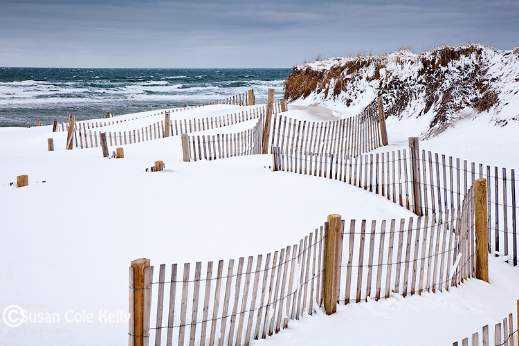 Mayflower Beach in Dennis, Cape Cod, MA, USA