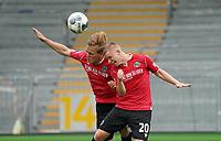 Timo Hübers (Hannover 96) und Philipp Ochs (Hannover 96) behindern sich beim Kopfball gegenseitig<br /> <br /> - 14.06.2020: Fussball 2. Bundesliga, Saison 19/20, Spieltag 31, SV Darmstadt 98 - Hannover 96, emonline, emspor, <br /> <br /> Foto: Marc Schueler/Sportpics.de<br /> Nur für journalistische Zwecke. Only for editorial use. (DFL/DFB REGULATIONS PROHIBIT ANY USE OF PHOTOGRAPHS as IMAGE SEQUENCES and/or QUASI-VIDEO)