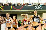 18.02.2018,  Helmut-K&ouml;rnig-Halle, Dortmund, GER, Deutsche Leichtathletik Meisterschaften Dortmund 2018, <br /> <br /> im Bild | picture shows:<br /> Christina Hering (LG Sta. M&uuml;nchen) gewinnt das Finale der 800m der Frauen, <br /> <br /> Foto &copy; nordphoto / Rauch
