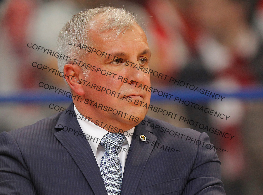 Kosarka Euroleague season 2015-2016<br /> Euroleague <br /> Crvena Zvezda v Fenebahce Istanbul<br /> Head coach Zeljko Obradovic<br /> Beograd, 06.11.2015.<br /> foto: Srdjan Stevanovic/Starsportphoto &copy;