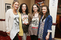 26/8/2010. NO REPRO FEE. Little Gem Opening night.  Yvonne, Ann Marie, Elaine and Kiera Hopkins are pictured at the Olympia Theatre Dublin for the opening night of Little Gem. Hilda Fay makes her return as Lorraine, Anita Reeves continues in the role of Kay, and Genevieve Hulme-Beaman takes on the role of Amber. After sell-out seasons in New York, London and Paris and a sold-out 7-week run at Ireland's National Theatre, Gúna Nua is bringing its bittersweet comedy Little Gem back to Dublin for 10 shows only at The Olympia Theatre from August 26 to September 4, 2010. Love, sex, birth, death, dildos and salsa classes: Elaine Murphy's award winning Little Gem sees three generations of Dublin women on a wild and constantly surprising journey. Picture James Horan/Collins Photos