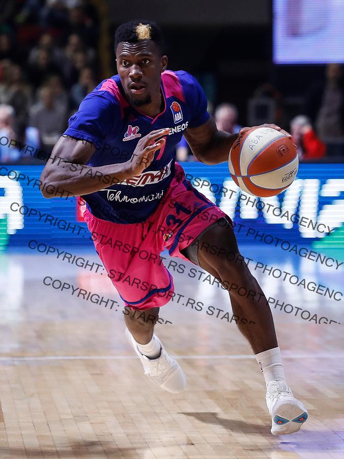 Kosarka ABA League season 2017-2018<br /> Crvena Zvezda v Mega Bemax<br /> Dylan Ennis<br /> Beograd, 04.09.2017<br /> foto: Srdjan Stevanovic/Starsportphoto &copy;