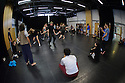 London, UK. 31.10.2015. The National Youth Dance Company (NYDC), rehearse at City & Islington sixth Form College, during their October residency. Photograph © Jane Hobson.