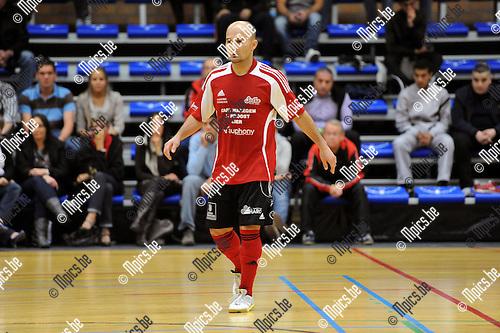 2012-09-21 / Futsal / seizoen 2012-2013 / Lier / Miguel Dos Santos Ribelo Jao..Foto: Mpics.be