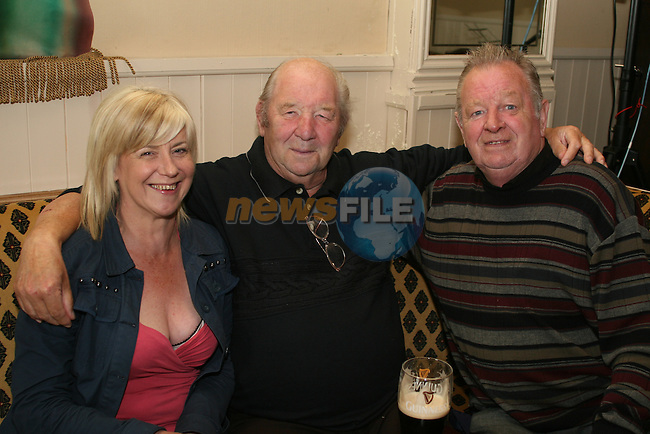 Sandra Gough, Paddy Cluskey and Gary Reilly at the Senior Citizens Day in the Riverhouse, Marsh Road...Photo NEWSFILE/Jenny Matthews.(Photo credit should read Jenny Matthews/NEWSFILE)....This Picture has been sent you under the condtions enclosed by:.Newsfile Ltd..The Studio,.Millmount Abbey,.Drogheda,.Co Meath..Ireland..Tel: +353(0)41-9871240.Fax: +353(0)41-9871260.GSM: +353(0)86-2500958.email: pictures@newsfile.ie.www.newsfile.ie.FTP: 193.120.102.198.
