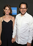 """Amy Herzog and Sam Gold attend the Broadway Opening Night performance of """"Sea Wall / A Life"""" at the Hudson Theatre on August 08, 2019 in New York City."""