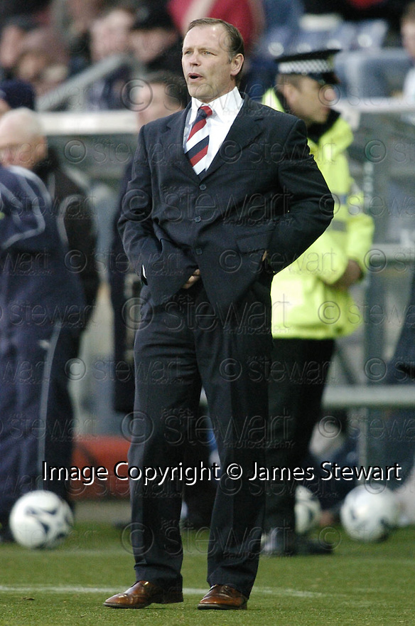 03/02/2007       Copyright Pic: James Stewart.File Name : sct_jspa17_falkirk_v_st_johnstone.JOHN HUGHES WATCHES HIS TEAM GO OUT OF A CUP FOR THE SECOND TIME IN A WEEK.....James Stewart Photo Agency 19 Carronlea Drive, Falkirk. FK2 8DN      Vat Reg No. 607 6932 25.Office     : +44 (0)1324 570906     .Mobile   : +44 (0)7721 416997.Fax         : +44 (0)1324 570906.E-mail  :  jim@jspa.co.uk.If you require further information then contact Jim Stewart on any of the numbers above.........