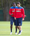Maurice Edu and Carlos Bocanegra