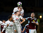 Sebastian Prodi of Watford and Ben Mee of Burnley during the Premier League match at Turf Moor Stadium, Burnley. Picture date: September 26th, 2016. Pic Simon Bellis/Sportimage
