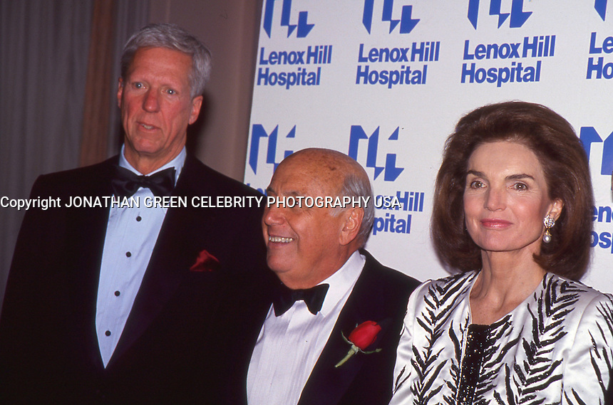 Jacqueline Kennedy Onassis 1992 NYC by<br /> Jonathan Green